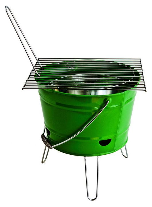 Barbecue bucket.