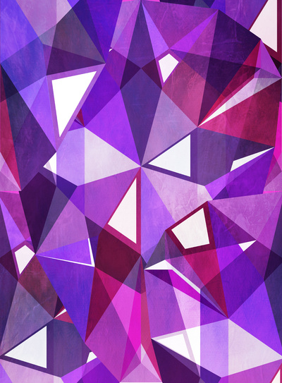 Abstract Amethyst