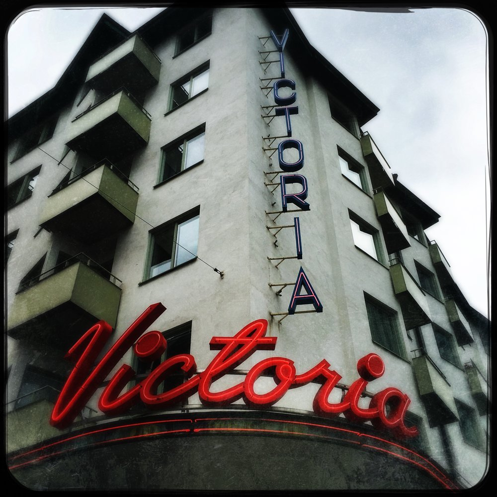 The Victoria cinema.