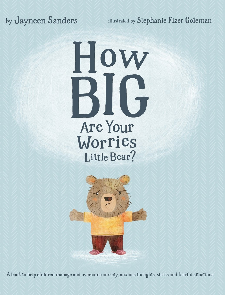 - Little Bear is a worrier. He worries about everything! But with Mama Bear's help, he soon learns his worries are not so big after all.Through this engaging and beautifully illustrated story, children will learn that everyday worries and fears can be overcome. It just takes a willingness to share with a helpful listener, and an understanding that making mistakes is how we learn.Also included are helpful Discussion Questions for parents, caregivers and educators, and extra hints to help children manage anxiety.Available in Australia from www.e2epublishing.infoand on Amazon for US [http://amzn.to/2iniWZ9] and UK [http://amzn.to/2AWRgFg] customers