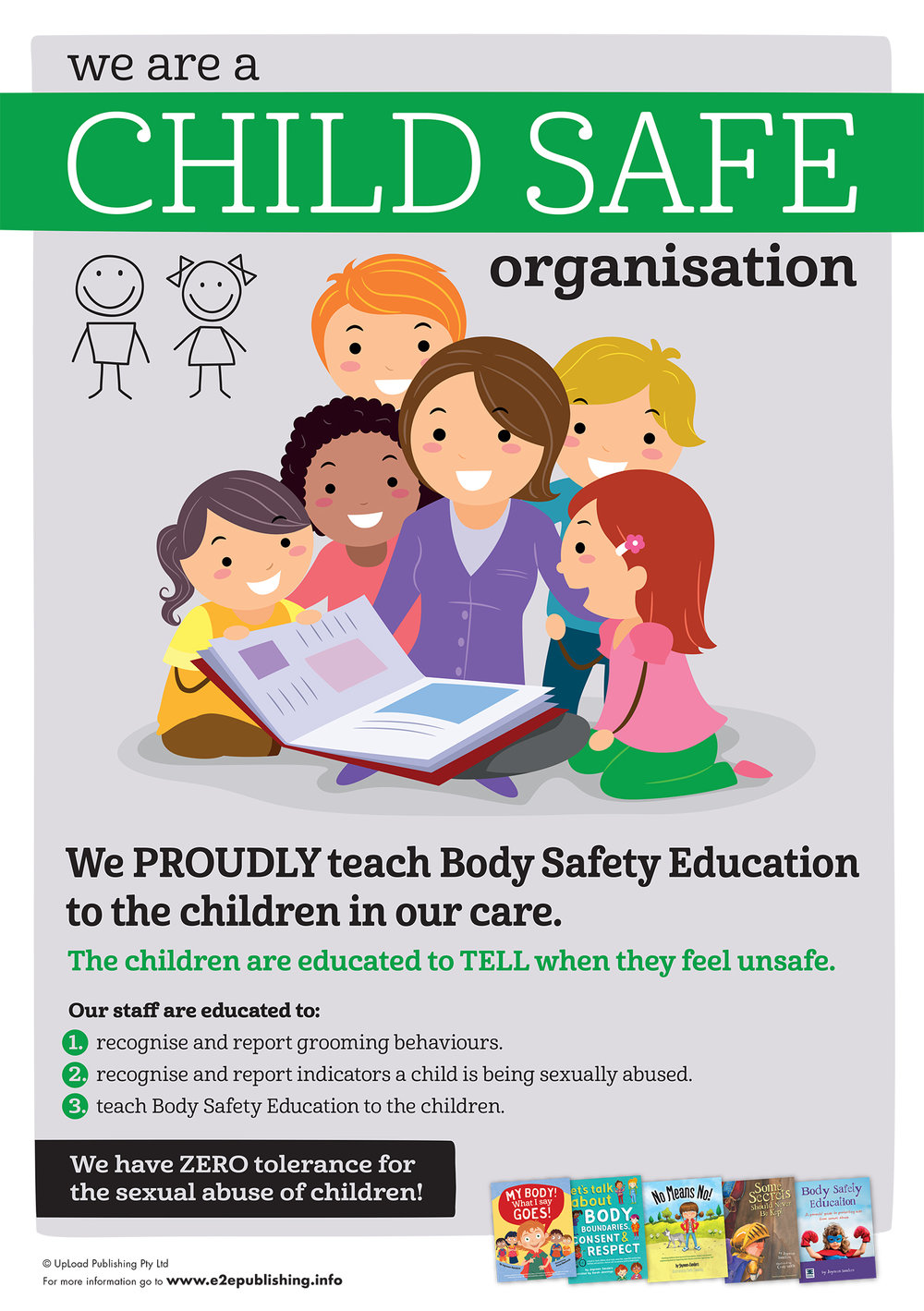 Posters - Empowering children in Body Safety, Gender ...