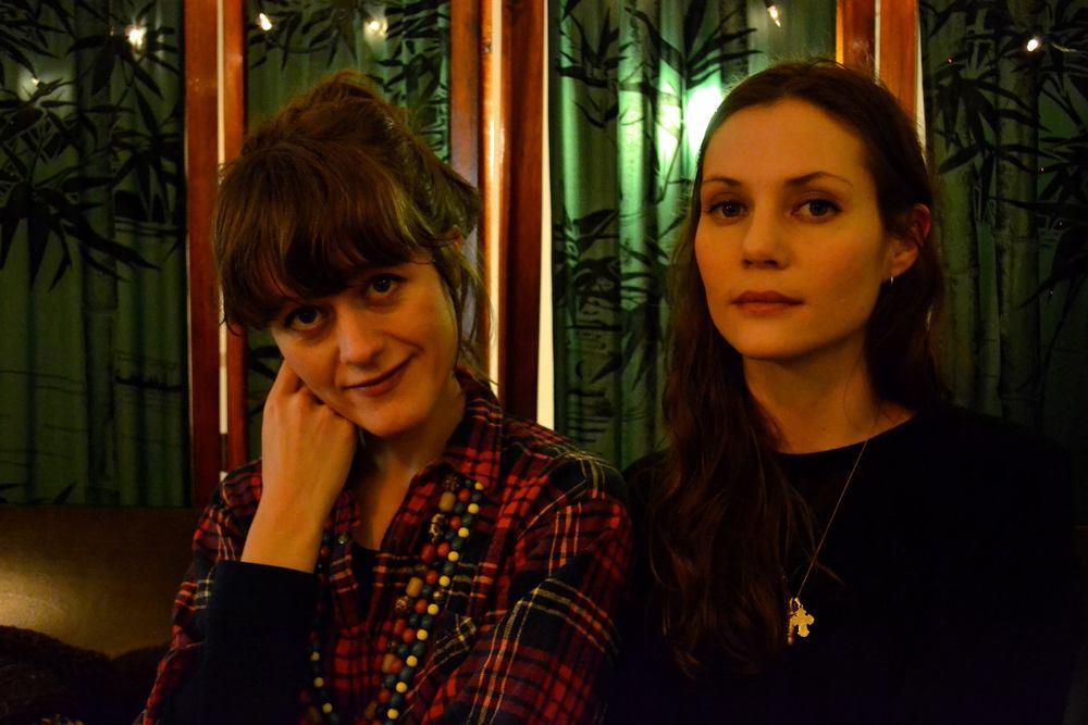 Bergþóra Snæbjörnsdóttir and Rakel McMahon