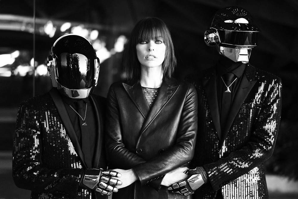 A tale of desire starring Daft Punk and Milla Jovovich