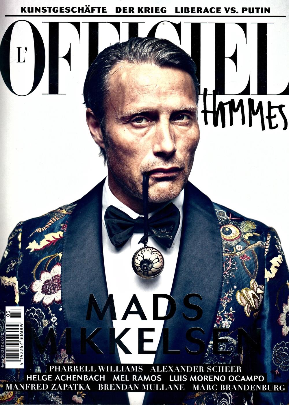 Mads Mikkelsen for L'Officiel Hommes - Mads_01