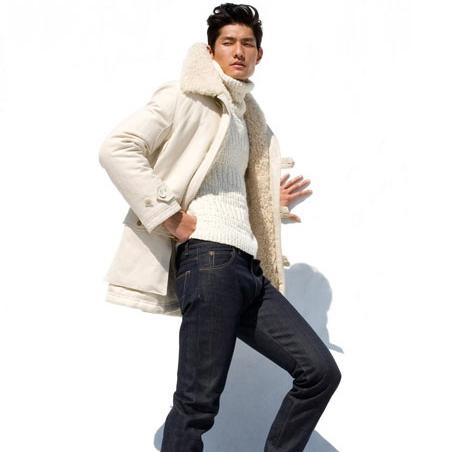9.The perfect pair of dark denim jeans.