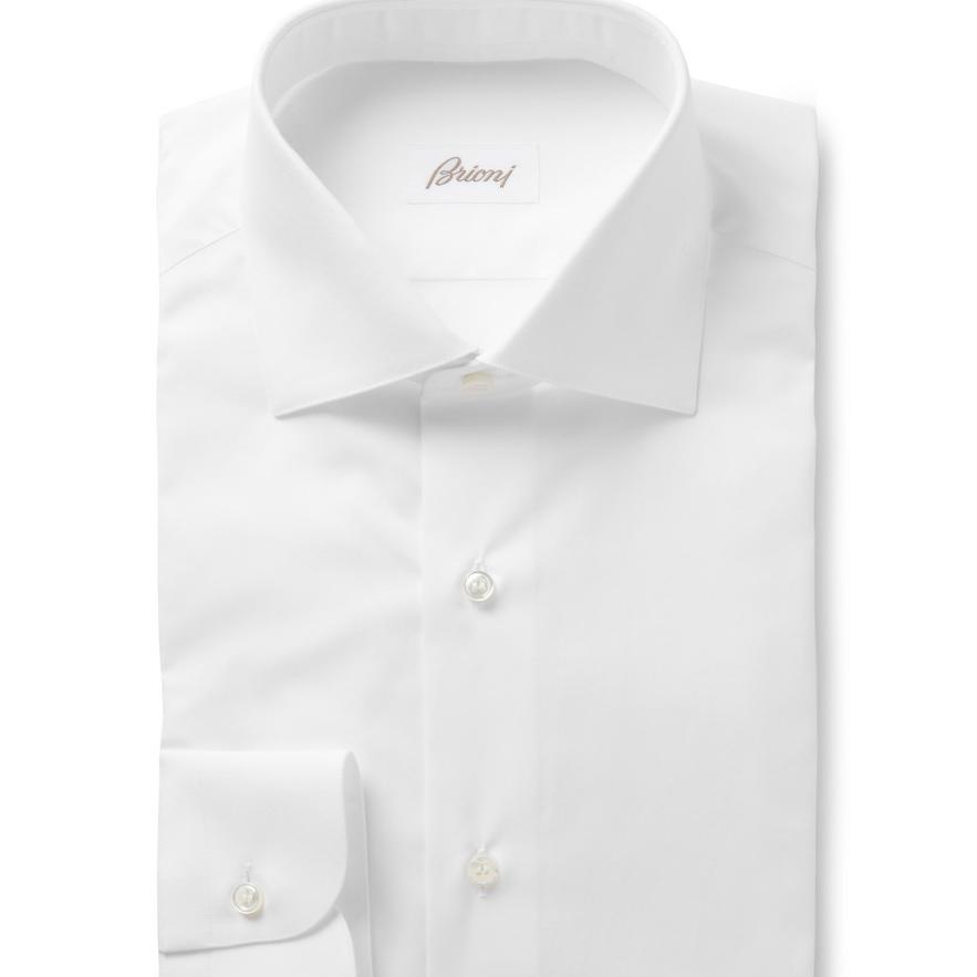 10. Lots of crisp white cotton shirts.
