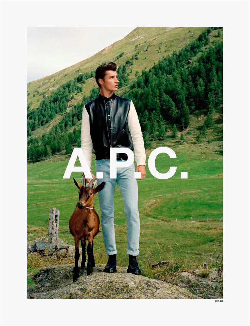 Source: A.P.C. Spring / Summer 2014 campaign