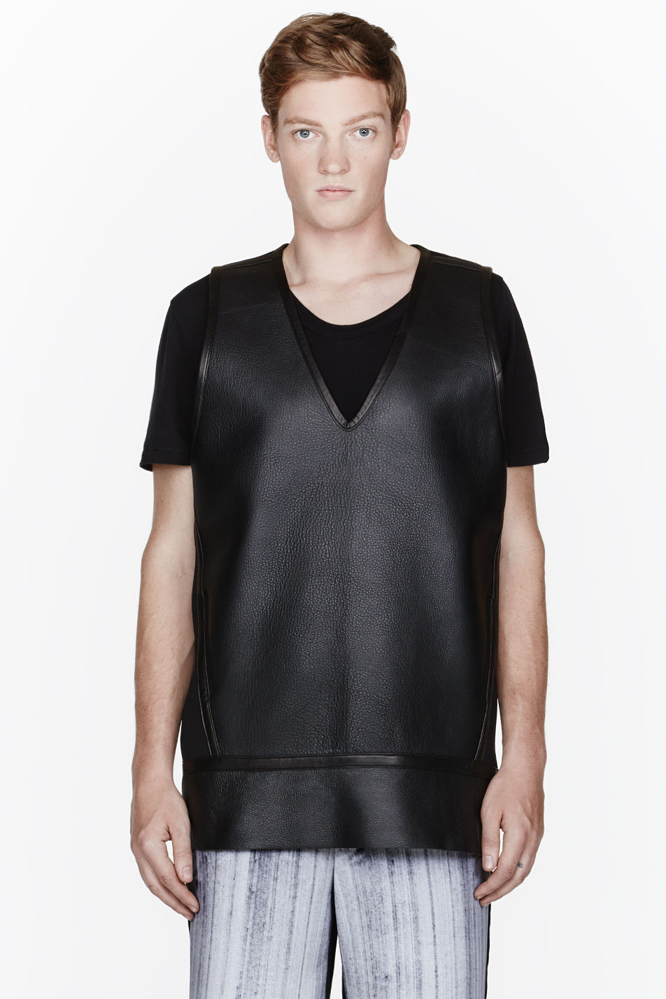 Denis Gagnon leather tank top
