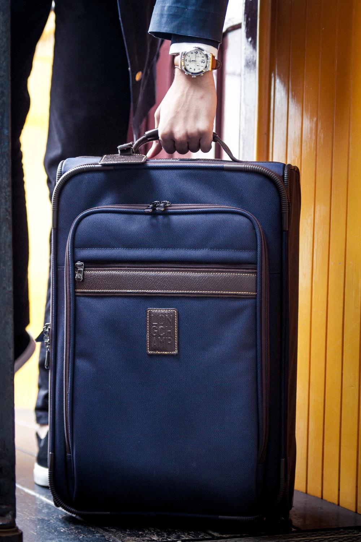 Longchamp Boxford suitcase
