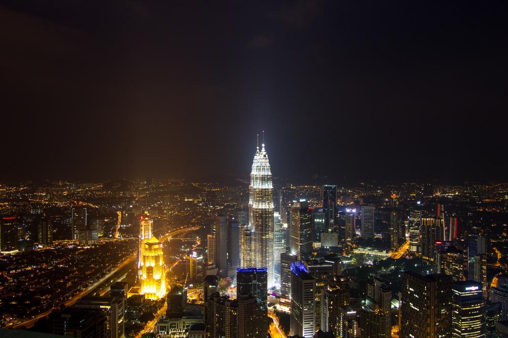 Petronas Towers, Kuala Lumpur.