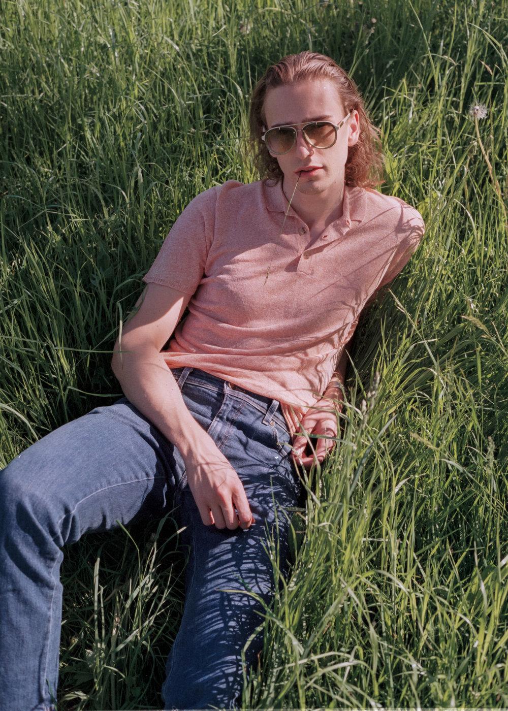 3.1 Phillip Lim sunglasses, Roberto Collina polo shirt
