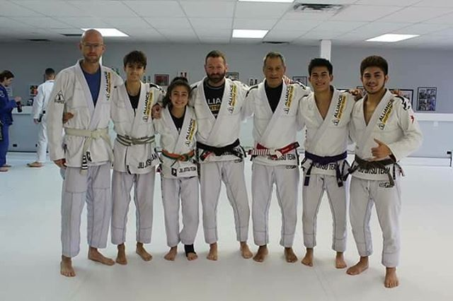 thank you rubalcava for your hospitality! Seminar was great! thank you master jacare!