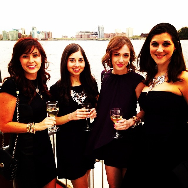 The ladies of Coco Lane having a fabulous time at the Fabb Ball #fabblive25