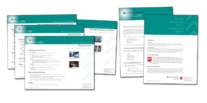 PRODUCT APPLICATION SHEETS