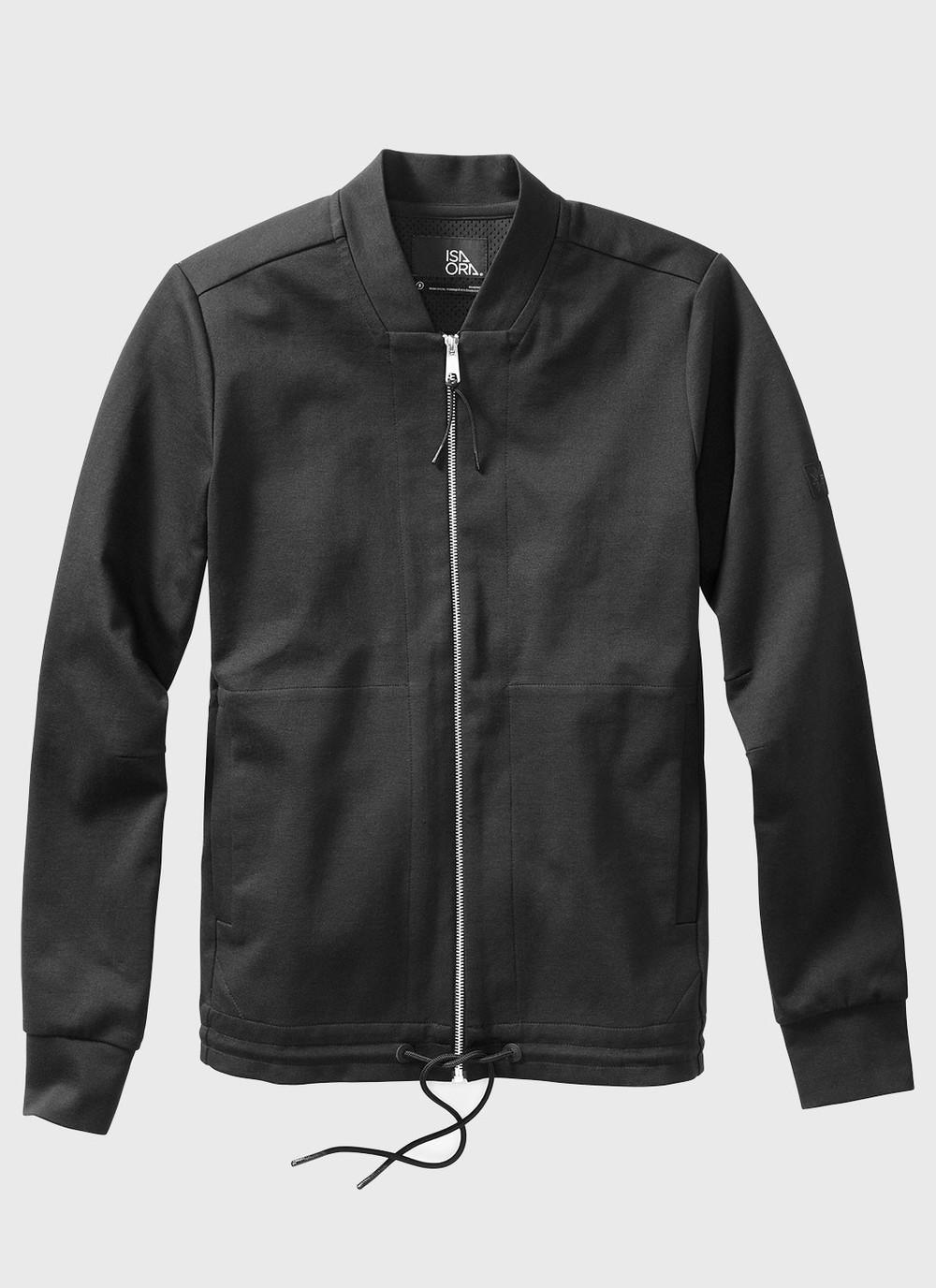 Knit Bomber Hybrid Jacket