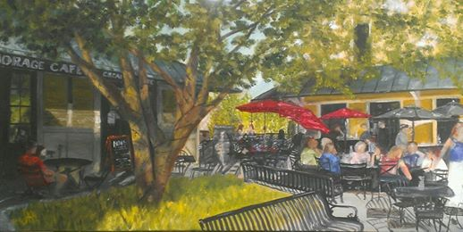 On the Patio - 12x24