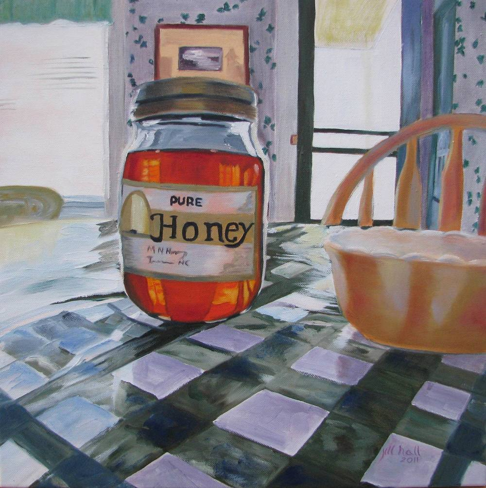 Tea House Honey - 12x12