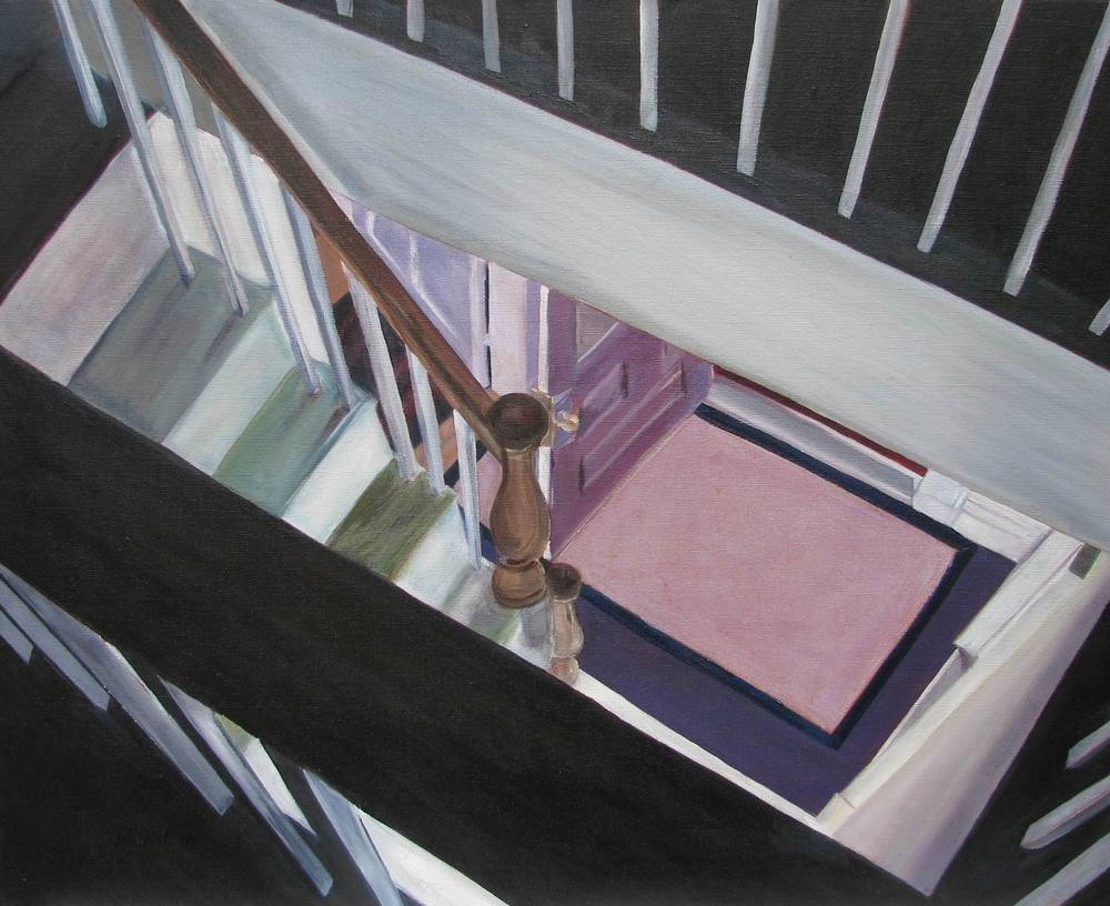 Friendship Stairwell - 24x30