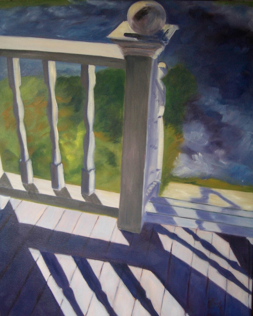 Maine Porch Rail - 24x30