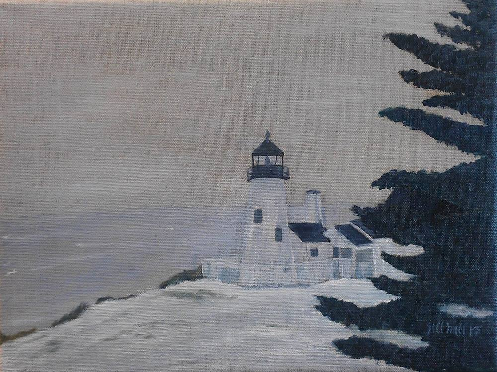 Pemaquid Point Light - 9x12
