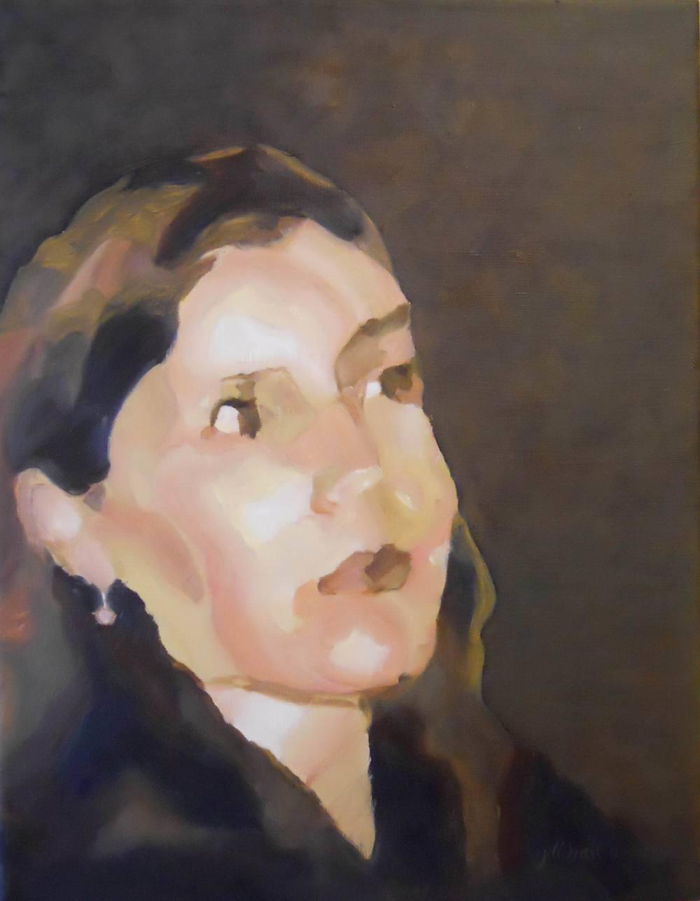 Kristin - 11x14 on linen