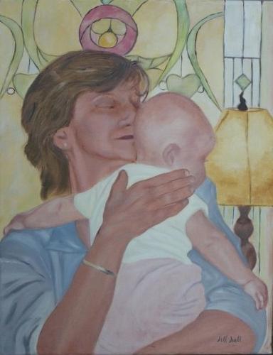 Ashley with Mama Jill - 14x18
