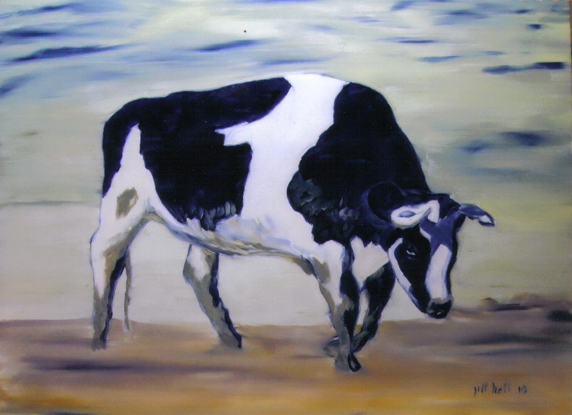 McKinney Cow - 12x16