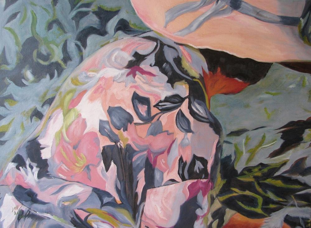 Garden Lady - 18x24