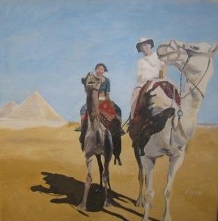 Camels - 16x20