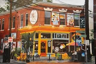Cafe 360 - 16x20