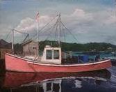 Lobsta Boat - 16x20