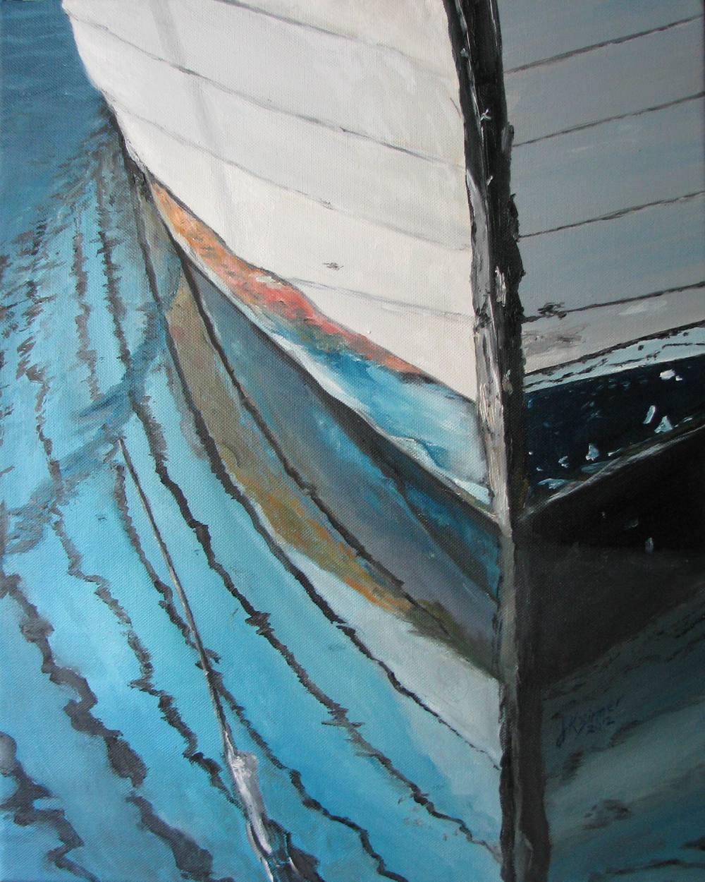 Boat Hull - 16x20