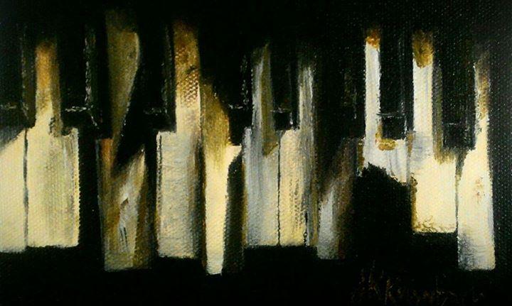 Piano Keys - 4x8