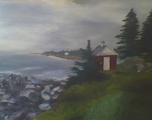 Pemaquid Point - 24x30