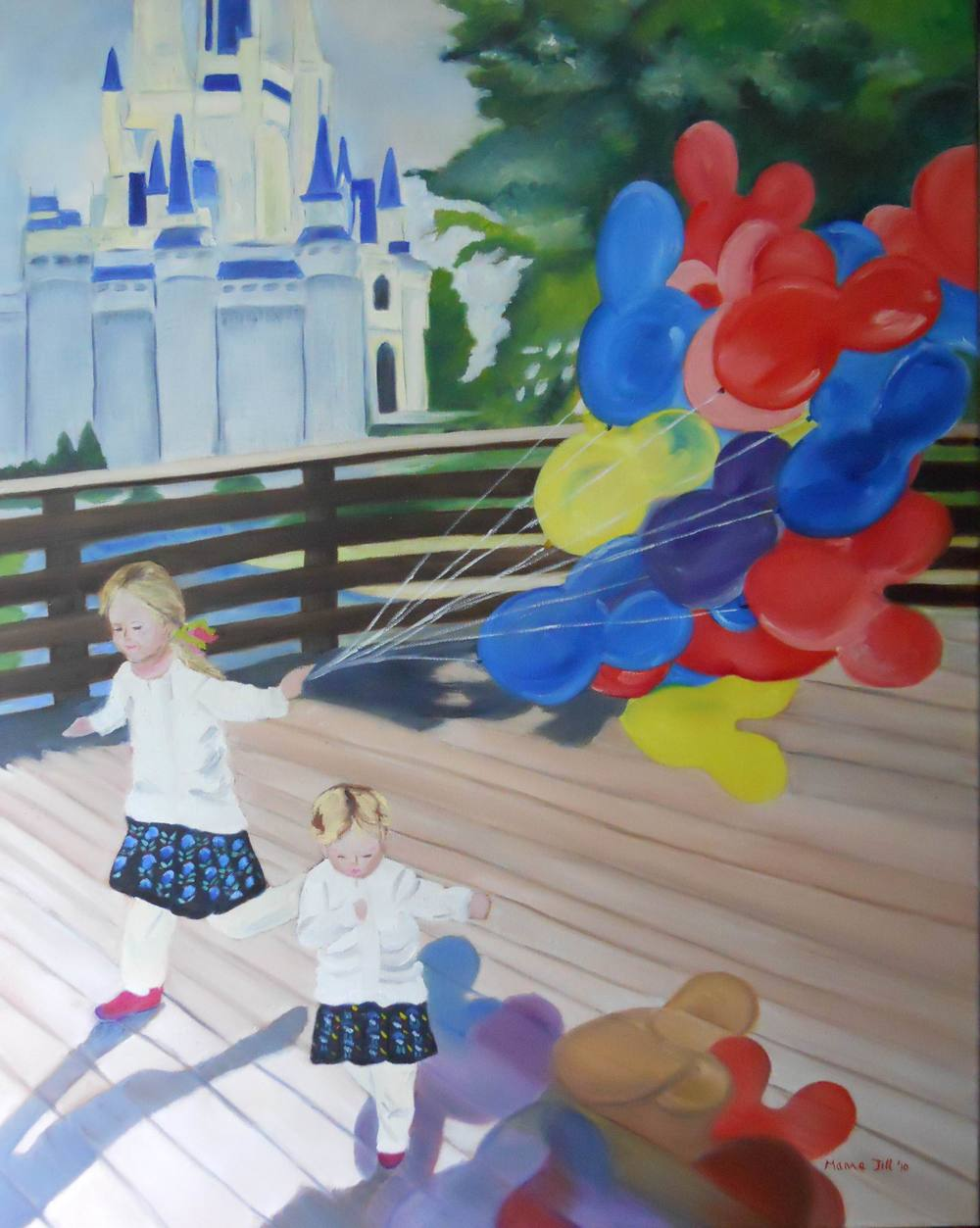 Ashley & Taylor - 30x24 in WDW