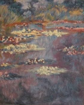 Monet's Water Lilies - 20x16