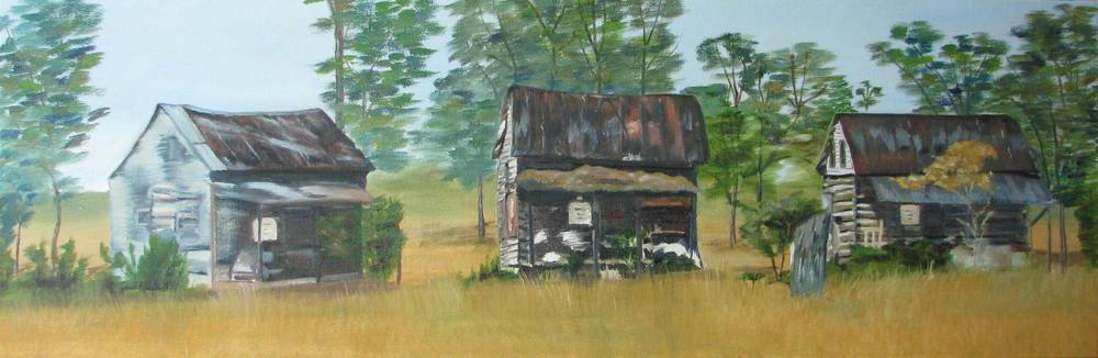 Alabama Slave Houses - 12x36