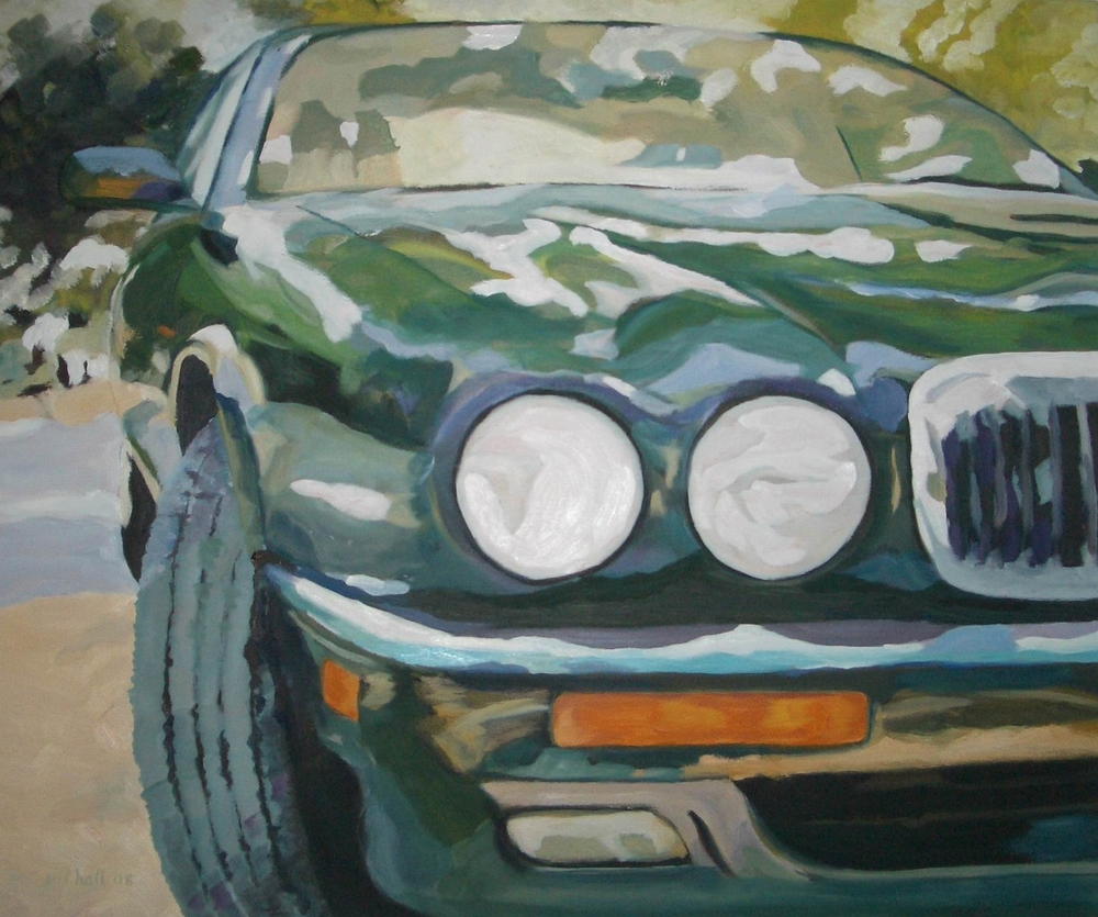 Ken's '95 Jaguar - 24x30