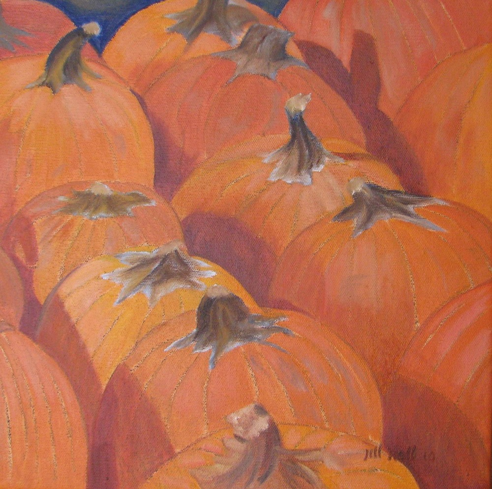 Pumpkins - 12x12