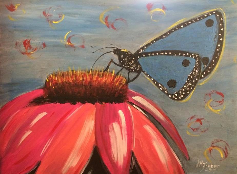 Cone flower Butterfly.jpg