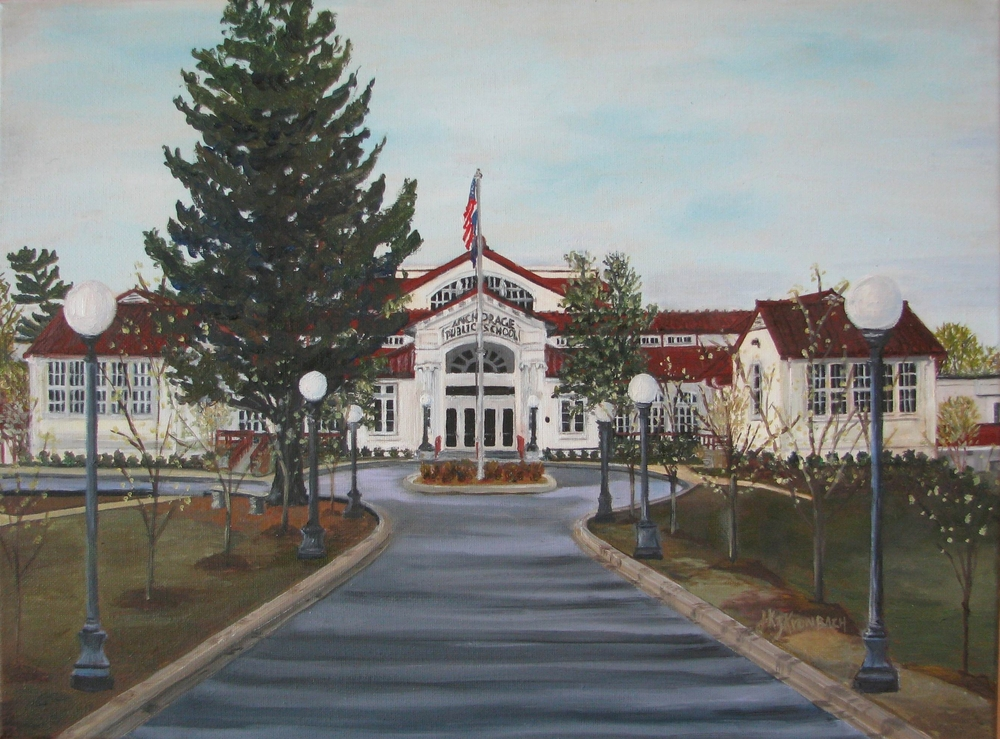 Anchorage Public School - 11 X 14
