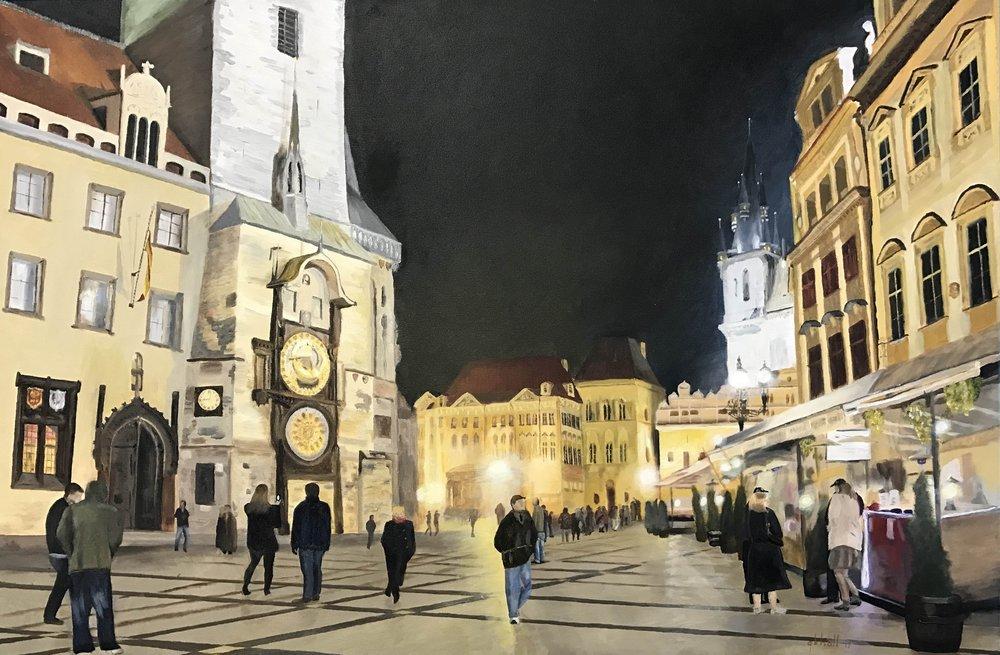 Prague Center - 24 X 36