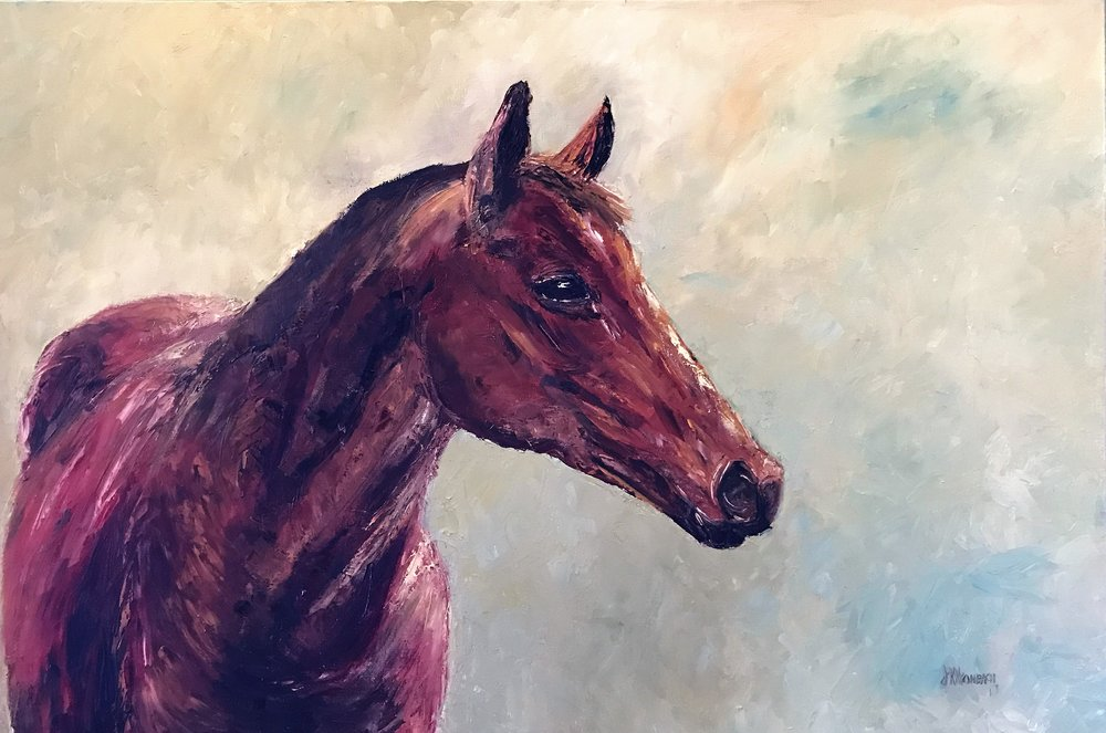 January Filly - 24 X 30