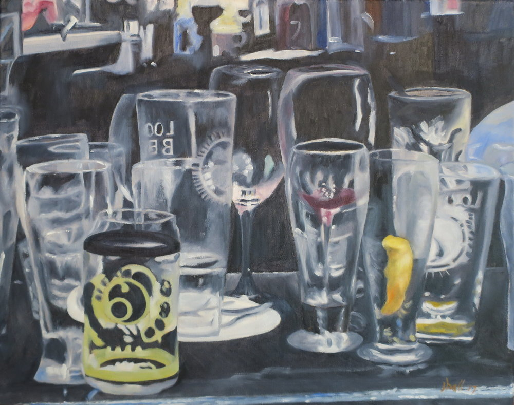 Bar Glasses - 16 X 20