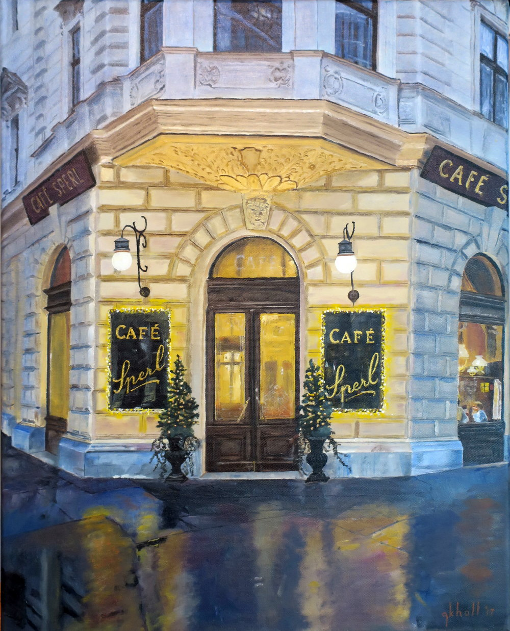 Cafe Sperl, Vienna -- 16 X 20