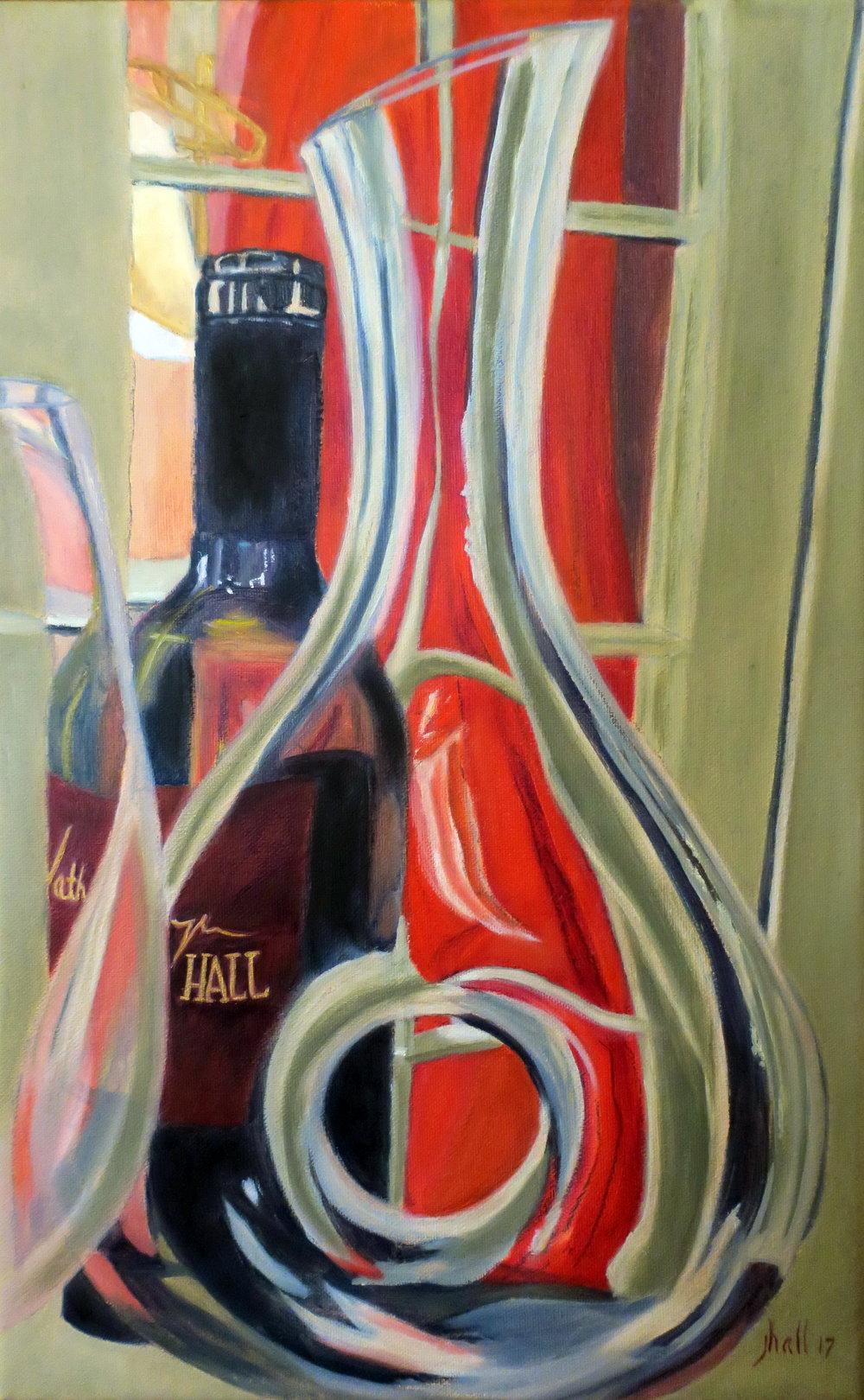Hall Wine - 16 X 10