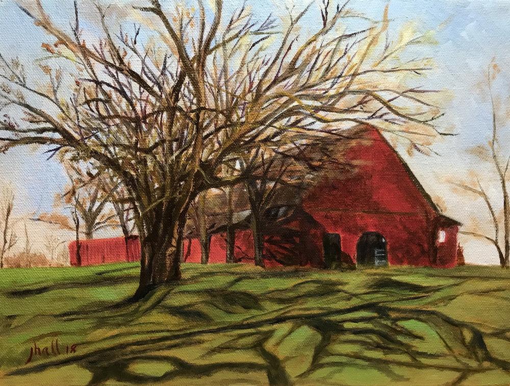 Gerald's Barn -- 9 X 12