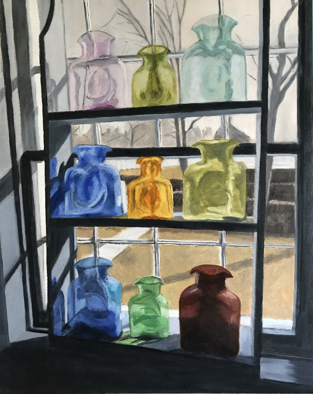 Shaker Village Gift Shop Window -- 16 X 20
