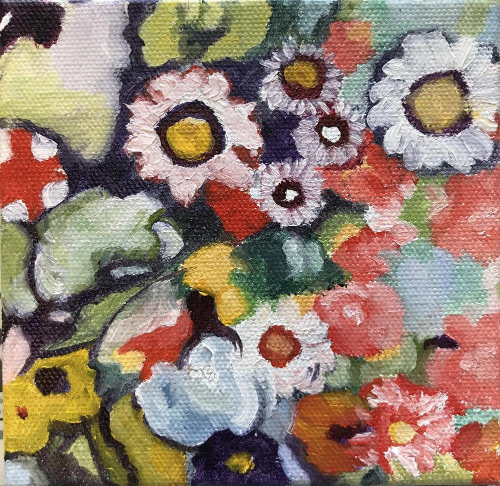 Klimt's Corner -- 8 X 8