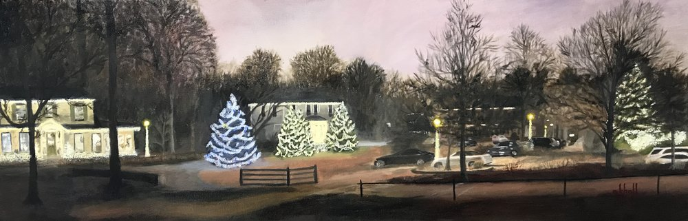 Christmas in Anchorage 2018 - 12 X 36